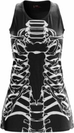 Black Squelete Dress