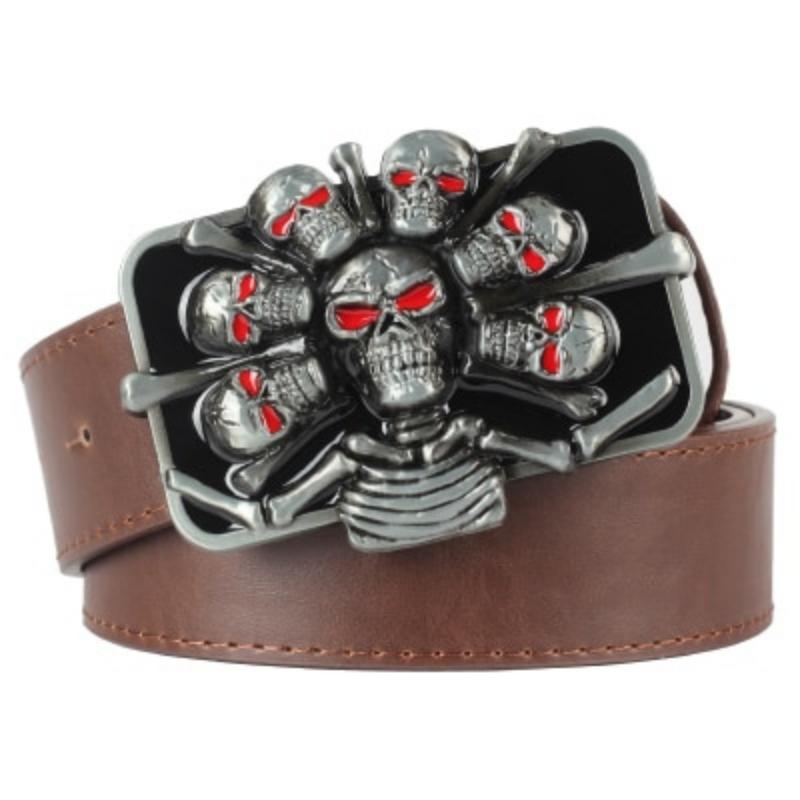 cheap skull belt