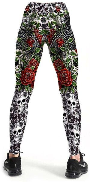 Flowery Legging for Women