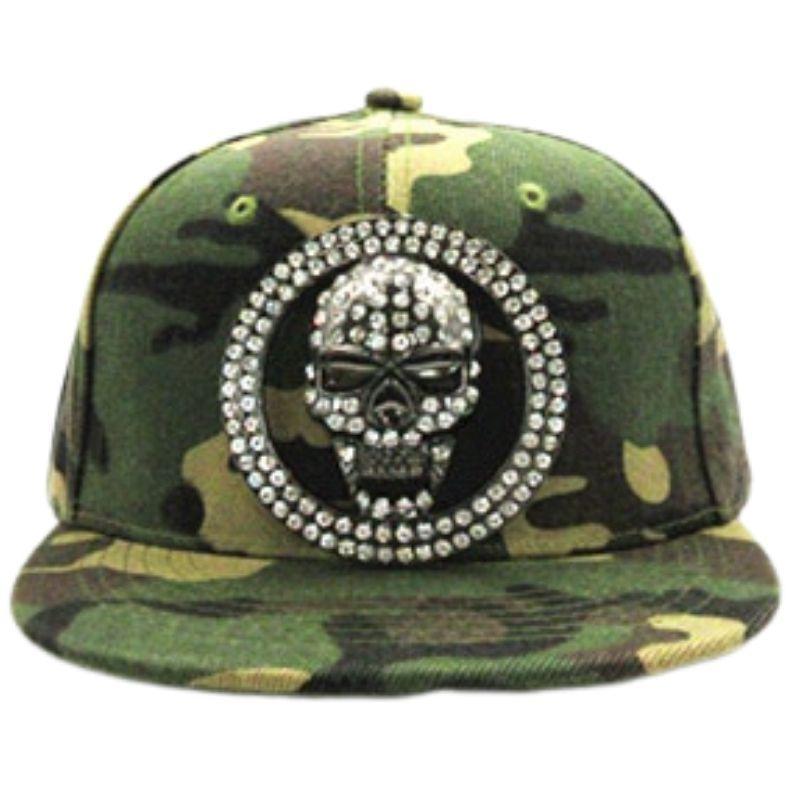 Hip hop 3D skull cap