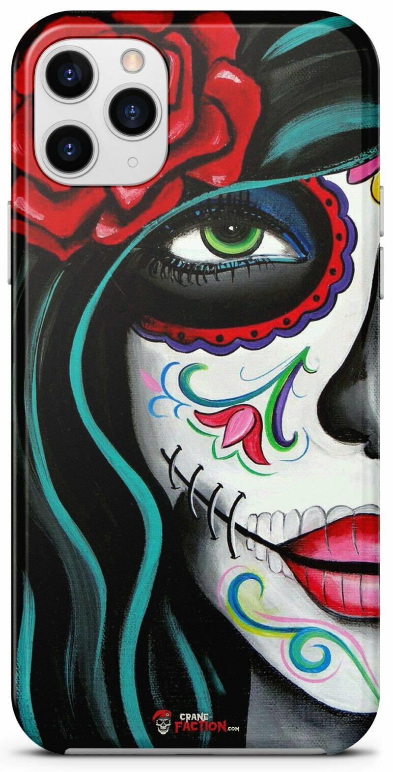 Skull Shell Mexican Woman Makeup