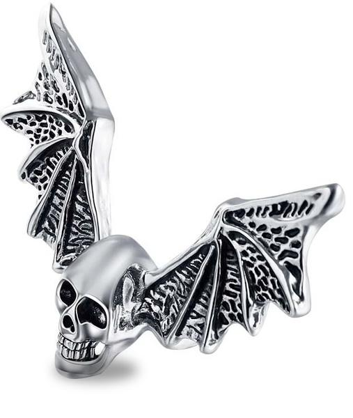 Death's Head Mouse Ring