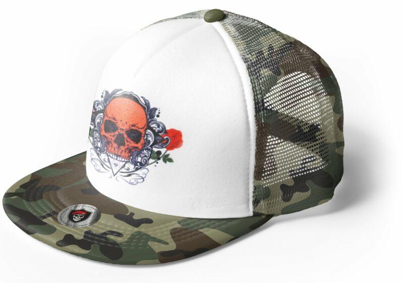 Skull Cap Flowers