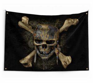 Scary Skull Flag