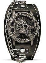 Biker Skull Watch