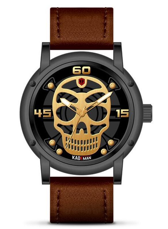 Elegant Skull Watch