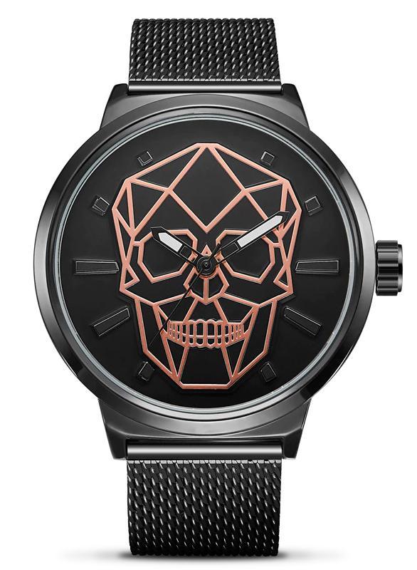 Skull and Crossbones Women's Steel Watch