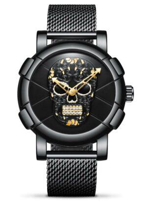 Strass Skull Watch
