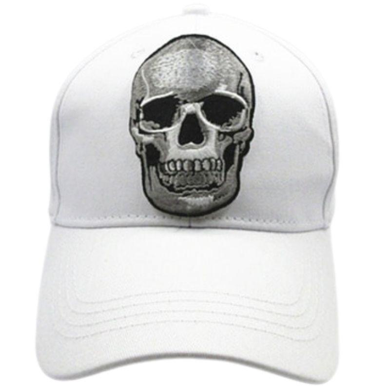 Smiling skull cap