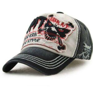 Vintage skull cap