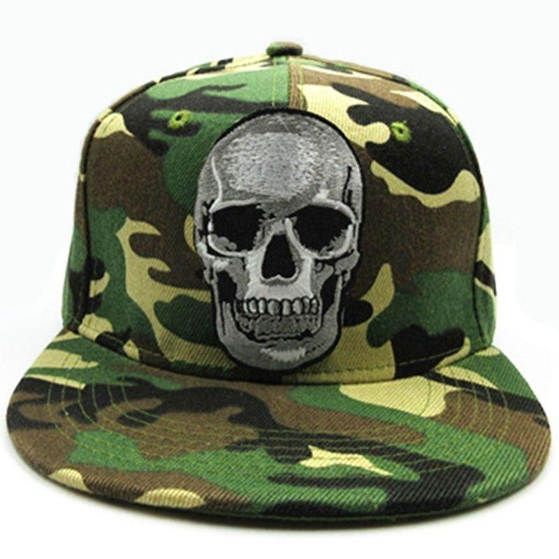 Military fabric skull cap
