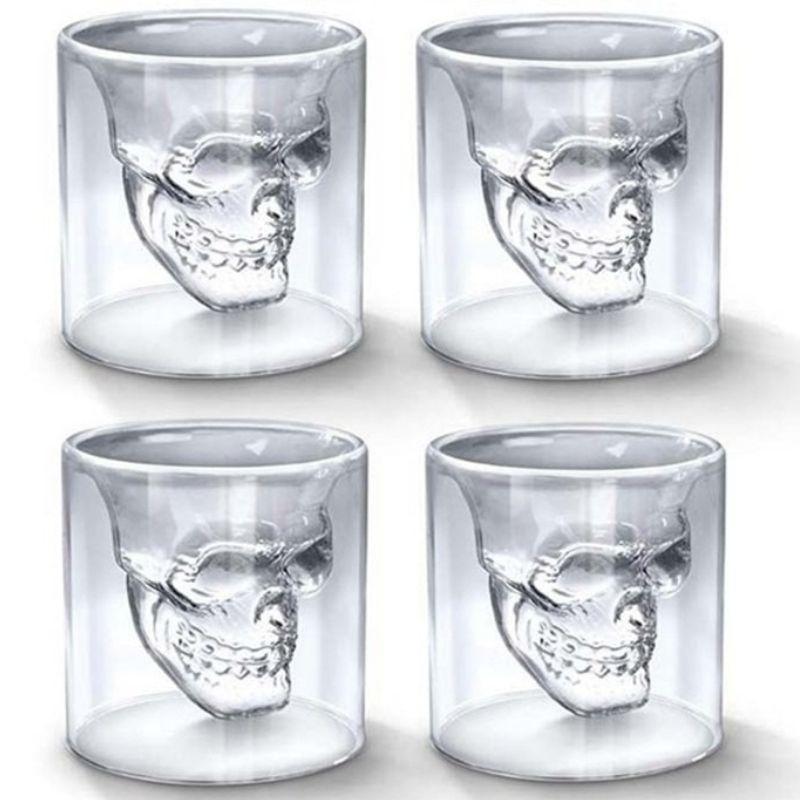 Skull Shooter Glass