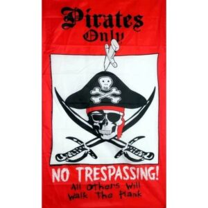 Pirate Only Flag