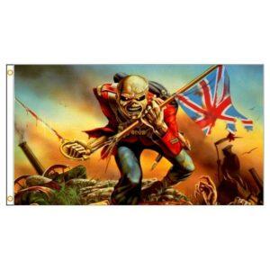 English skull flag