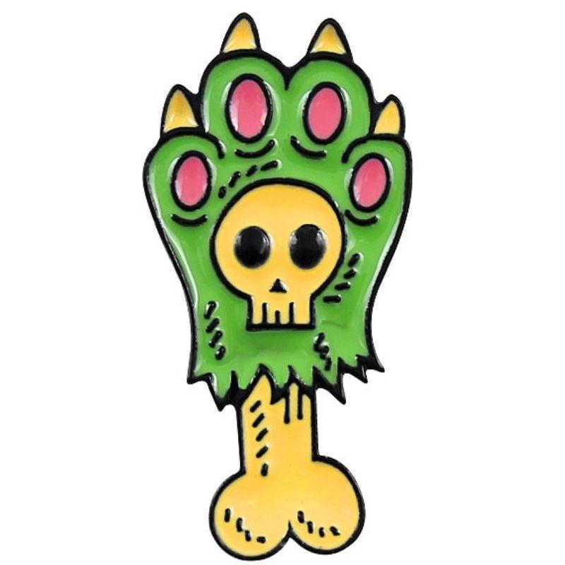 Skull Bone Pin