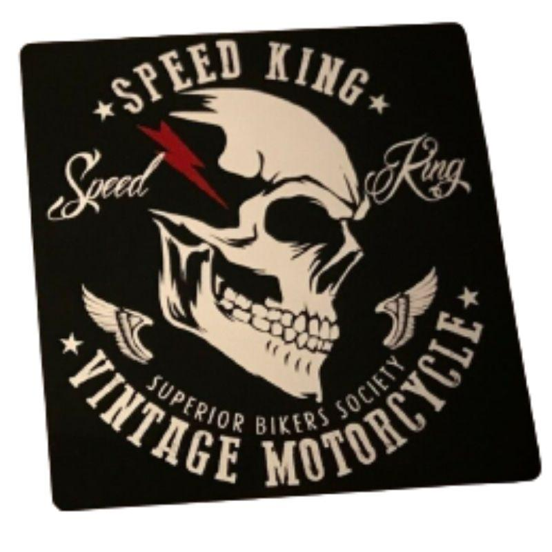 Skull and crossbones Motorcycle Sticker