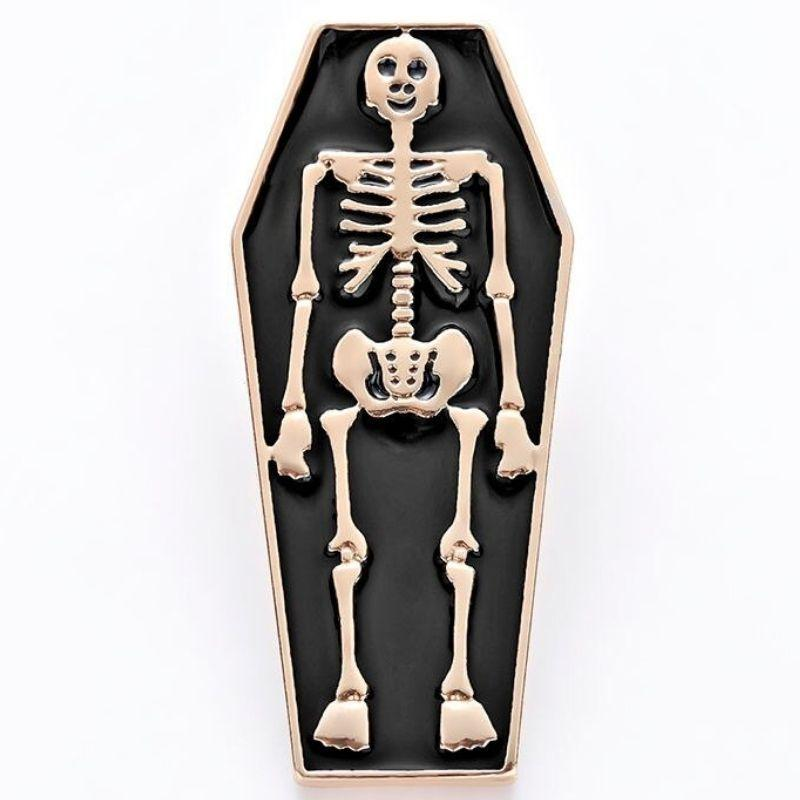 Skeleton Tomb Sticker