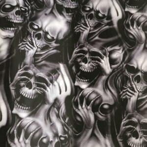 Skull and crossbones Anarchy Sticker