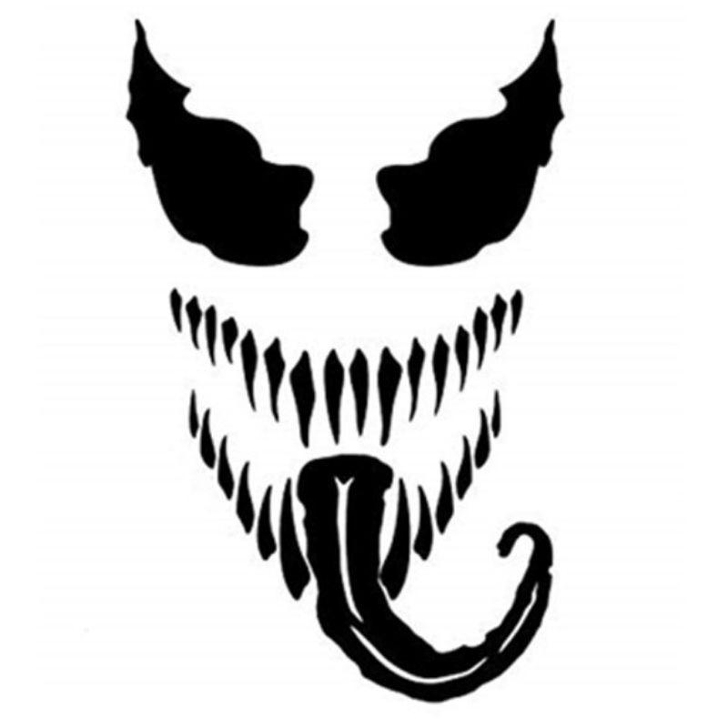 Black Devil Sticker