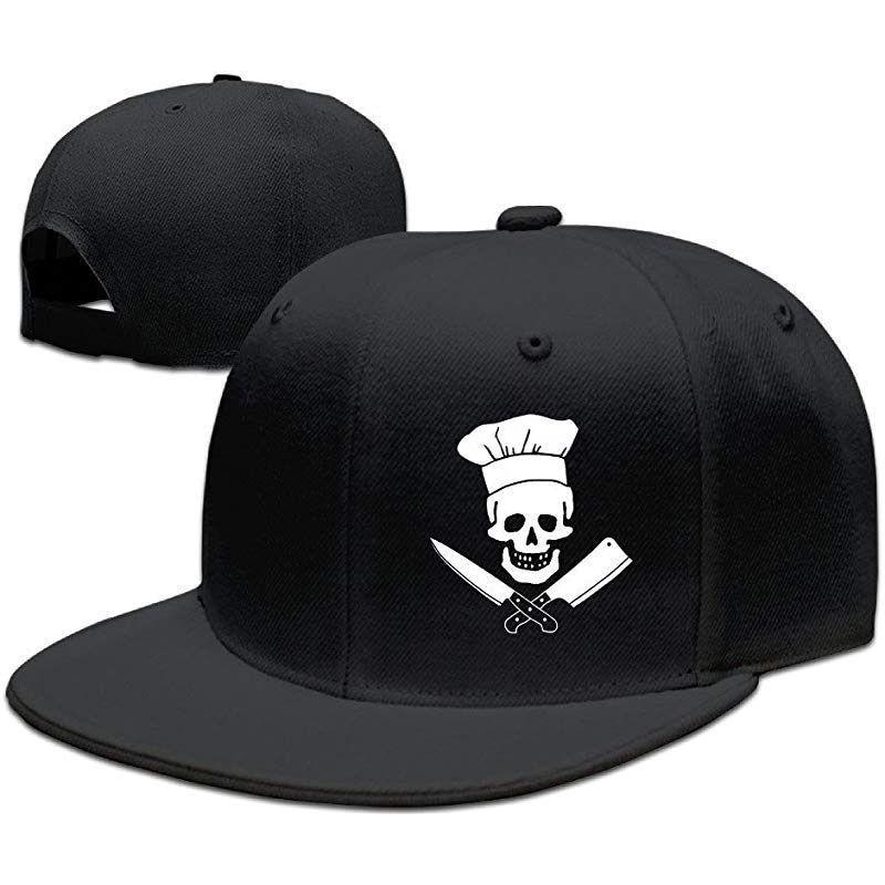 Skull and crossbones chef cap