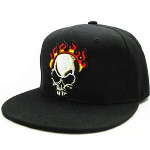 Fire Death's Head Cap