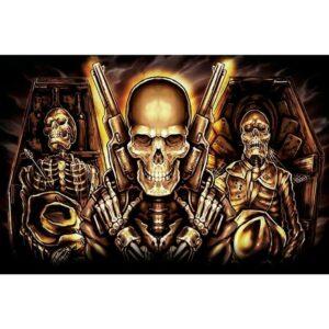 Skeleton Killer Flag