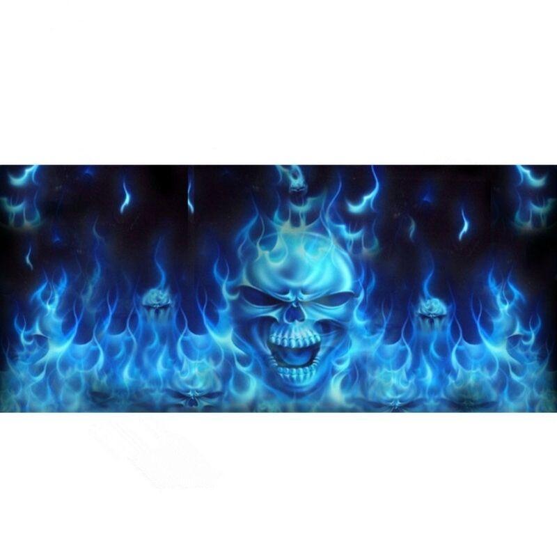 Death's Head Flame Sticker