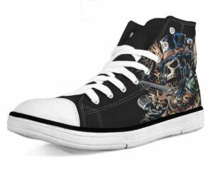 Shoe Hard Rock Skull