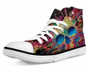 Shoe Skull Multicolor