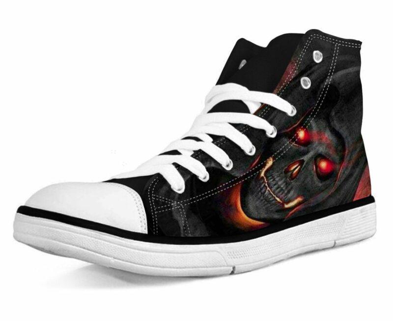 Shoe Skull Dark