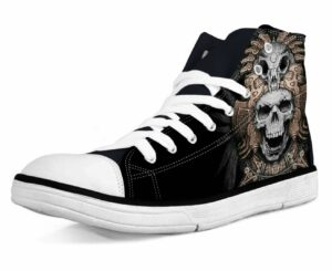 Shoes Indian Skull