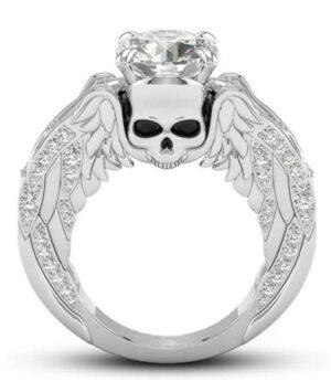 Angel Wings Woman Ring