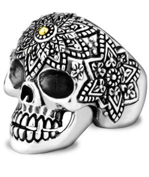 Mexican Skull Ring