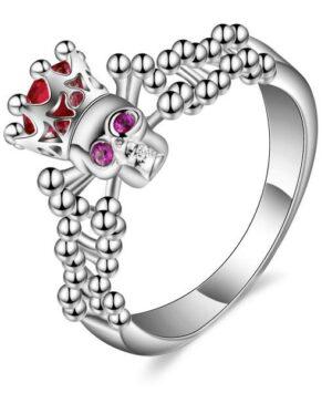 Skull Crown Ring