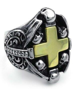Man Cross Ring