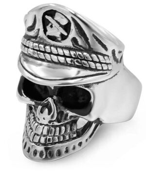 Skull Army Ring