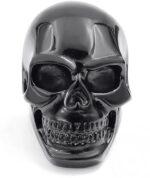 Black skull ring