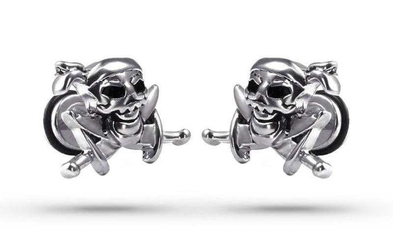 Pirate Skull Earrings