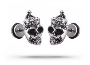Demon Skull Earrings