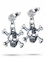 Skull Earrings Woman