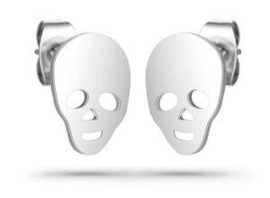 Ghost Skull Earrings