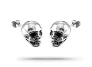 Biker Man Earrings