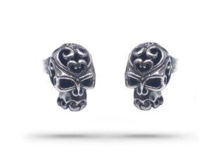 Demonic Skull Earrings