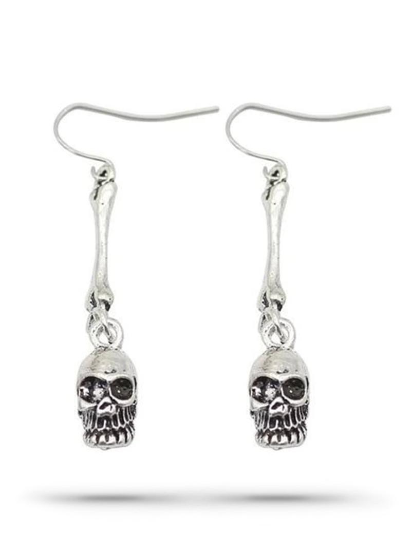 Biker Skull Earrings