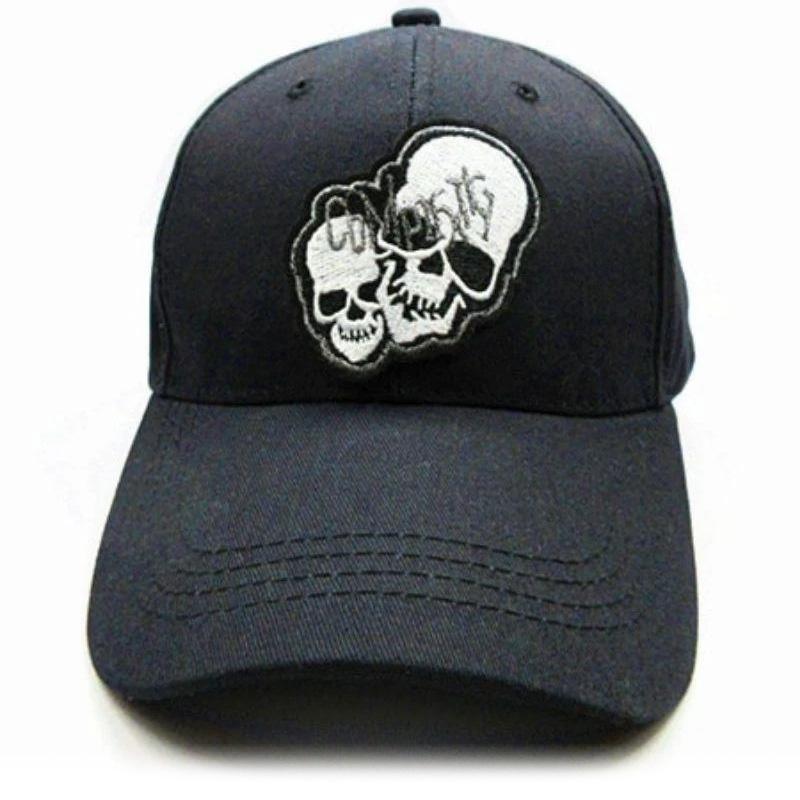 Art skull cap