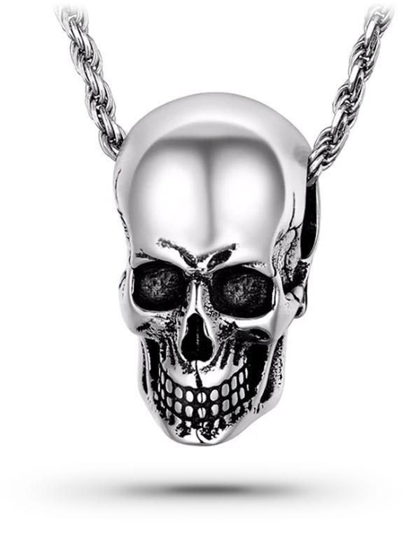 Skull Necklace Man