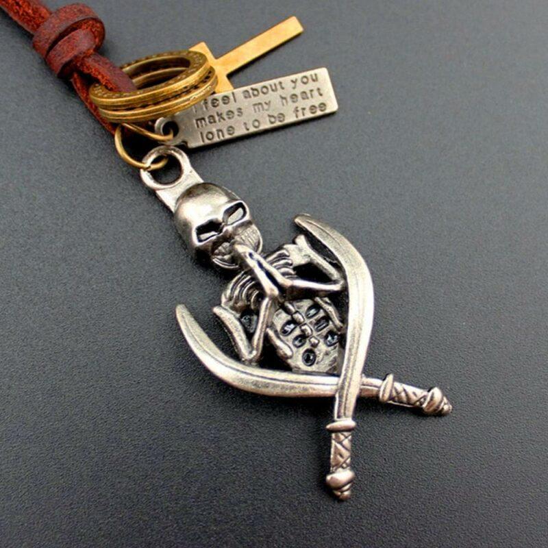 Pirate Leather Pendant