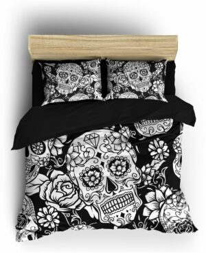 Comforter Cover Mexican Skull