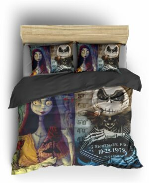 Comforter Cover Skull Jack