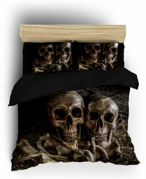 Comforter Cover Skull Cowboy